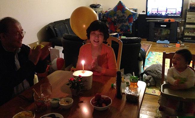 Happy birthday, Mama Kim!