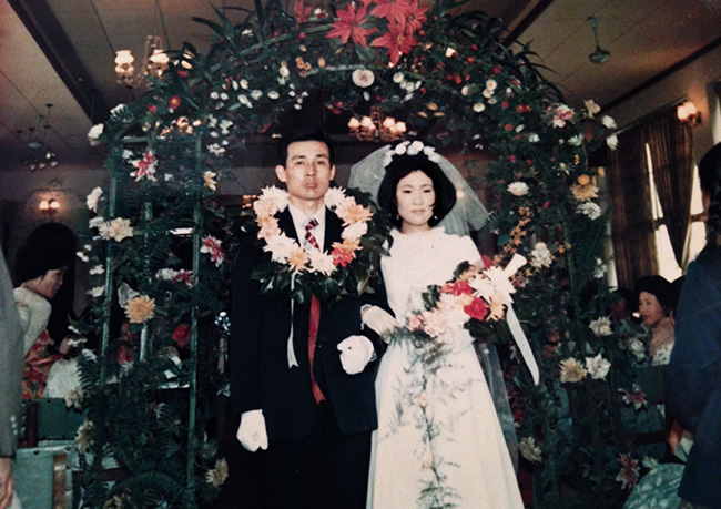 If they look too somber for their wedding day, it's because this is Korea in 1973 when it was considered undignified to smile during such a serious rite of passage