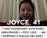 I was diagnosed with early menopause + I felt like, '... am I skipping a whole decade?'